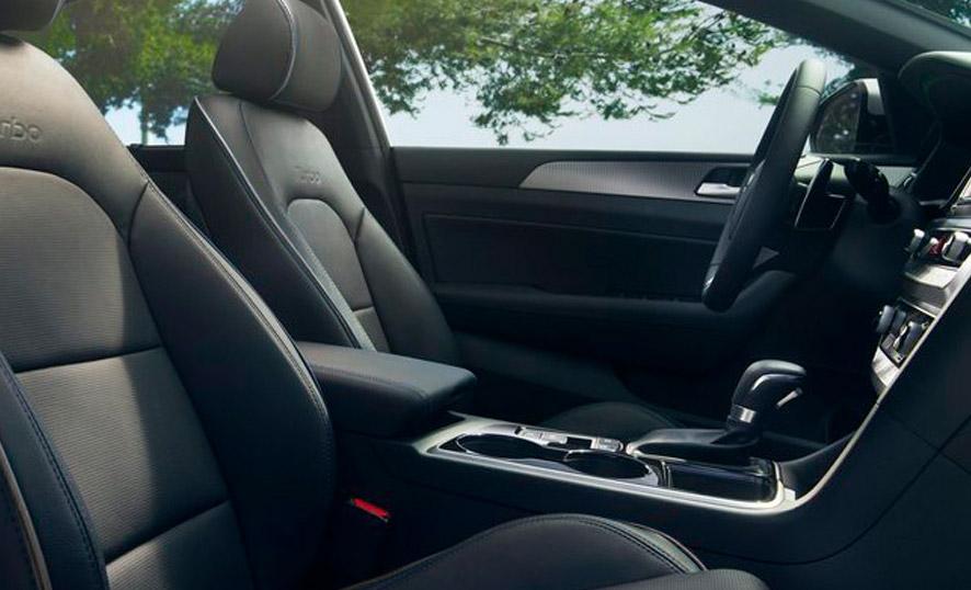 Asientos de piel Hyundai Sonata