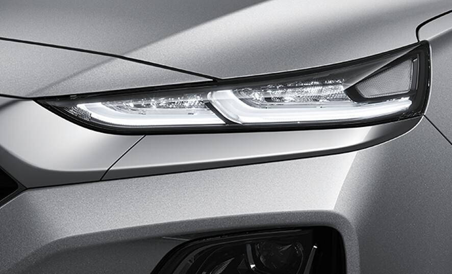 Hyundai Santa Fe Luces Diurnas