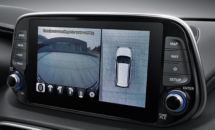 Hyundai Santa Fe Monitor