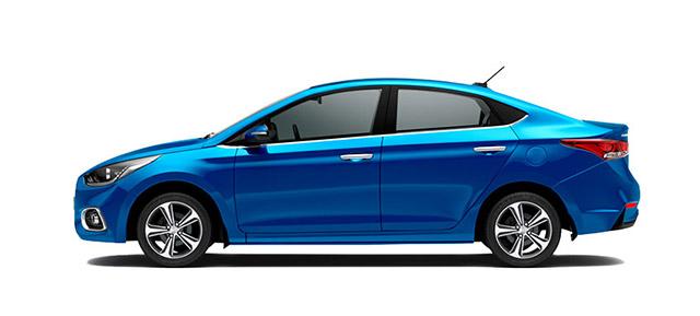 Hyundai Accent Azul