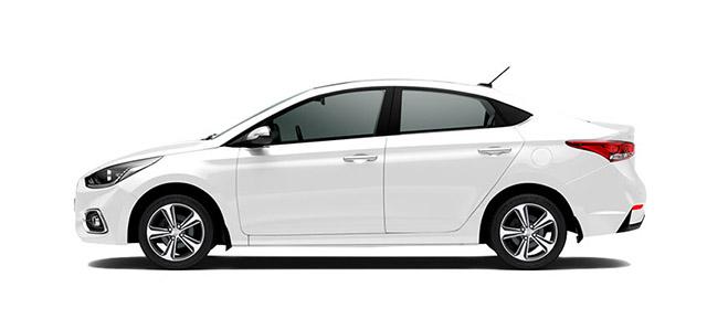 Hyundai Accent Blanco