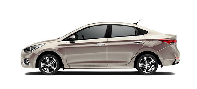 Hyundai Accent Champagne