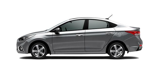 Hyundai Accent Gris