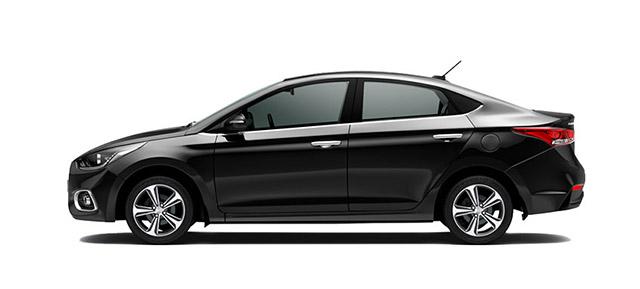 Hyundai Accent Negro