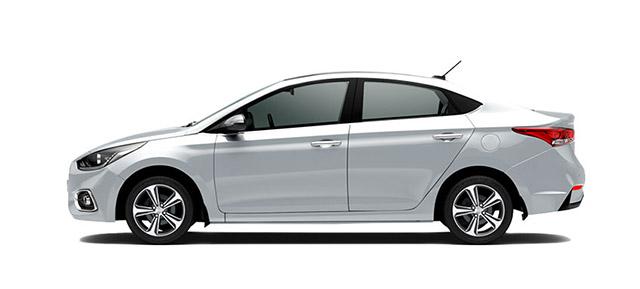 Hyundai Accent Plata