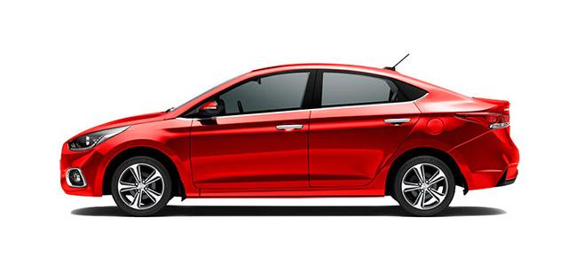 Hyundai Accent Rojo