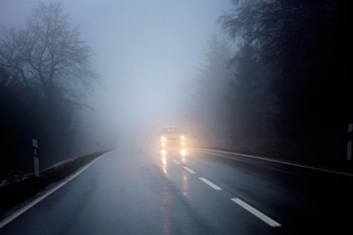 Manejar con niebla