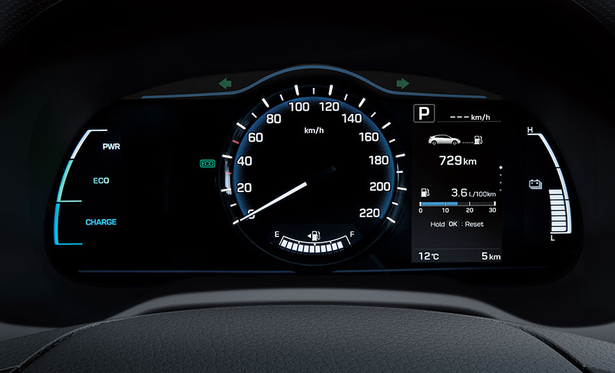 Cluster Hyundai Ioniq